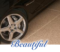 Beautiful garage floors